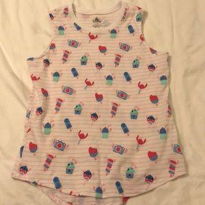 Disney's stitch tank top